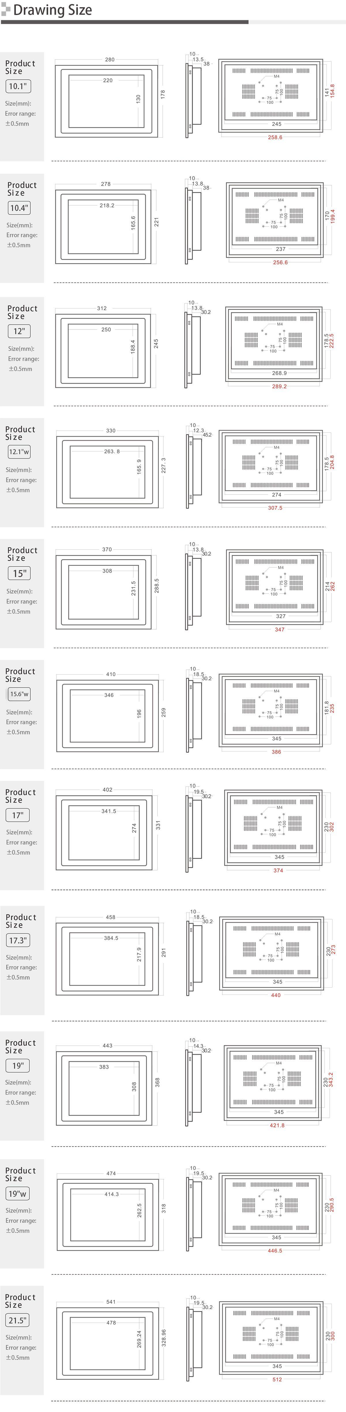 Industrial Panel PC SC210X