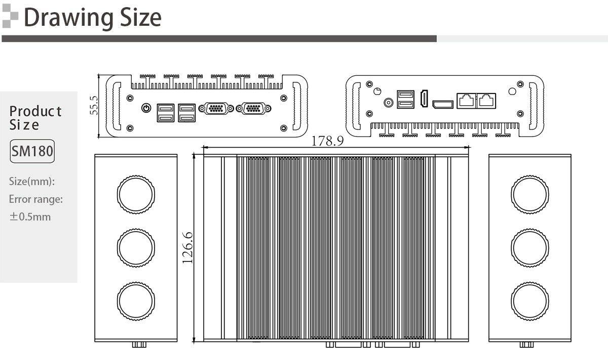 BOX PC SM180
