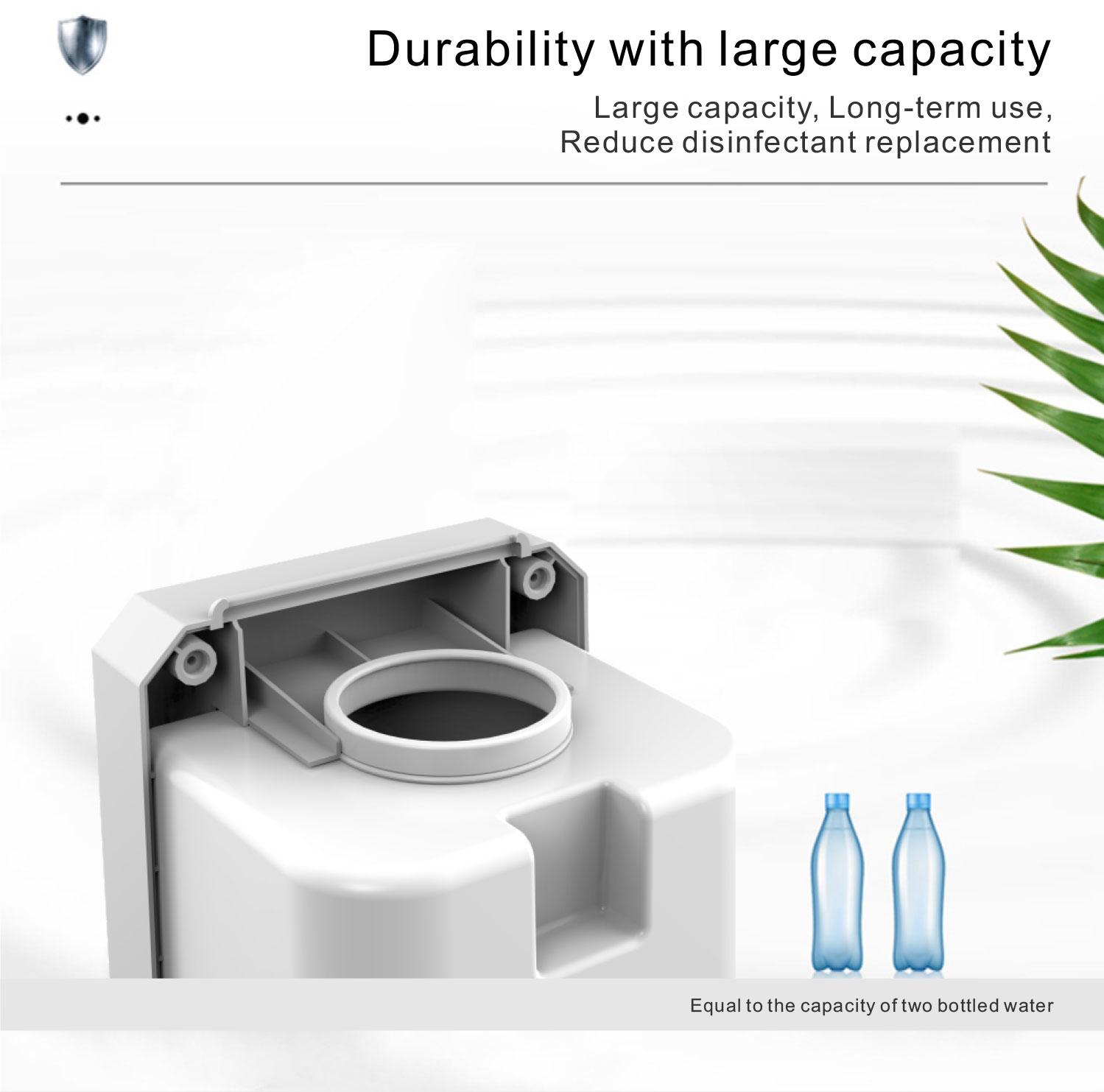 Auto Temperature Measuring Soap Dispenser