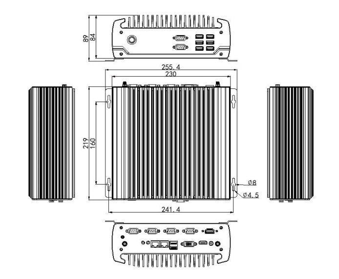 Dual HDMI mini pc windows10 core i7 8700T