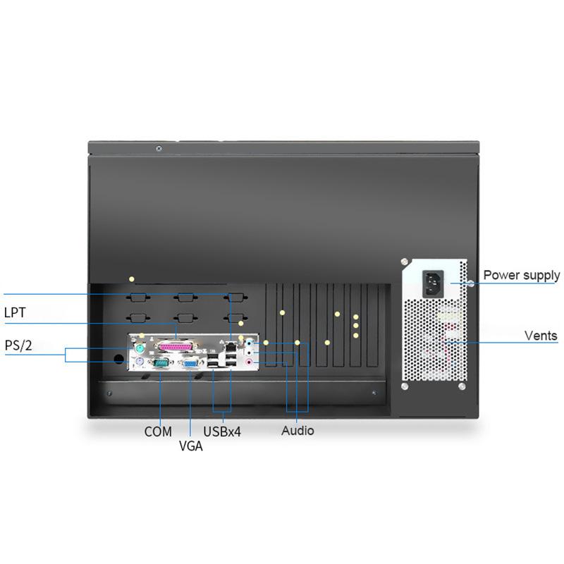 6U Industrial Control Rackmount PC Workstation