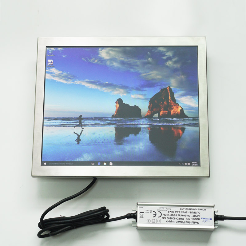 17 inch Industrial Full IP67 Stainless Steel Touch Panel PC
