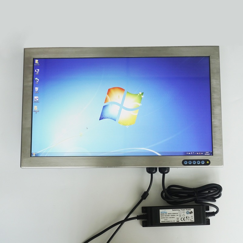 21.5 inch Full IP66 Stainless Steel Touchscreen Monitor