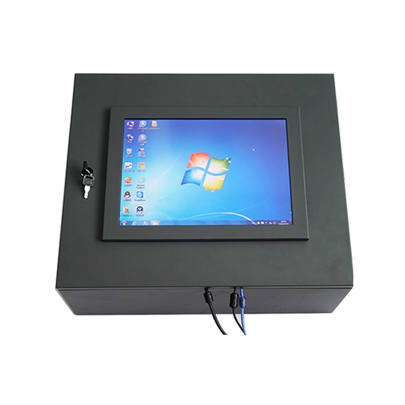 15 inch Touch Monitor With Cabinet Box