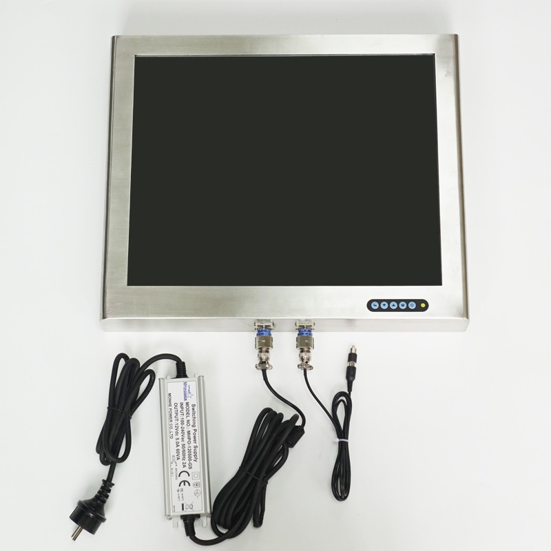19 inch Full IP67 Military Monitor with Military Connectors