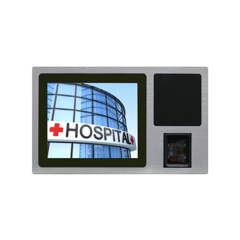 10.4 inch Touch Panel PC with RFID Reader and QR Scanner