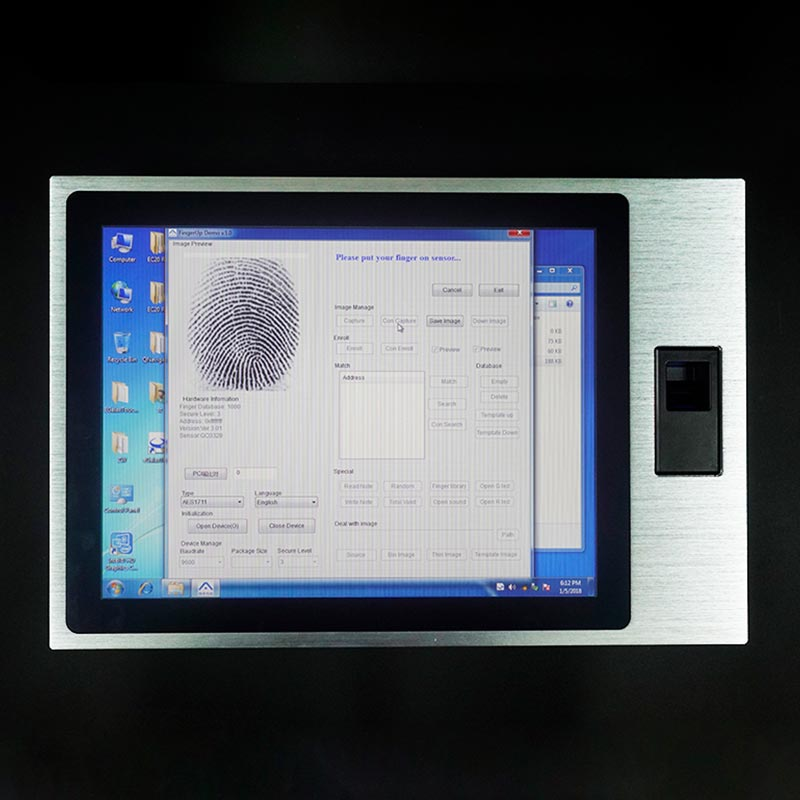 15 inch Panel PC With Built-In Battery