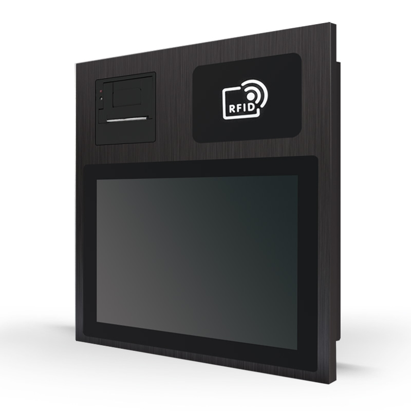 12 inch Panel PC with RFID and Printer for Kitchen Order