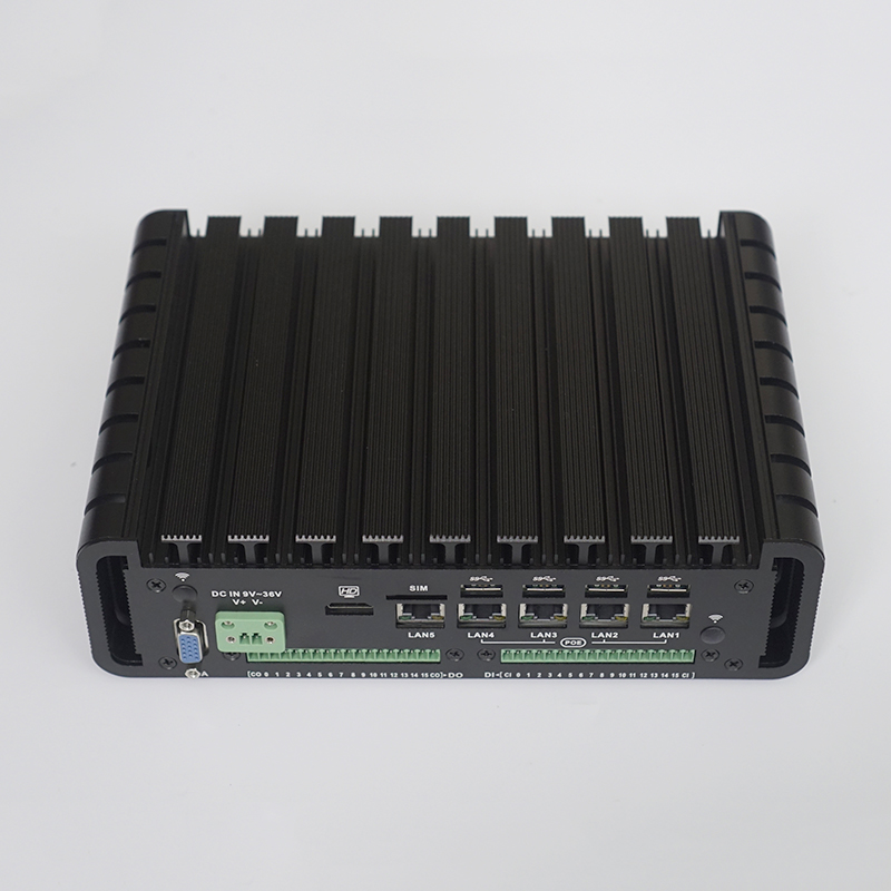 Industrial POE Mini PC with 18PIN GPIO