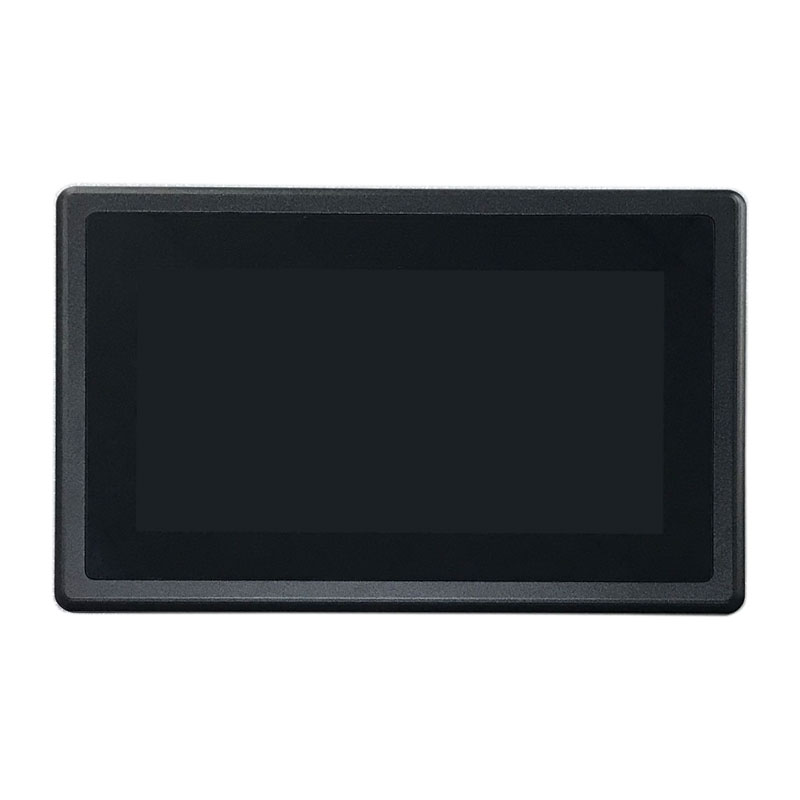 7 inch Embedded Panel PC with 2 power interface