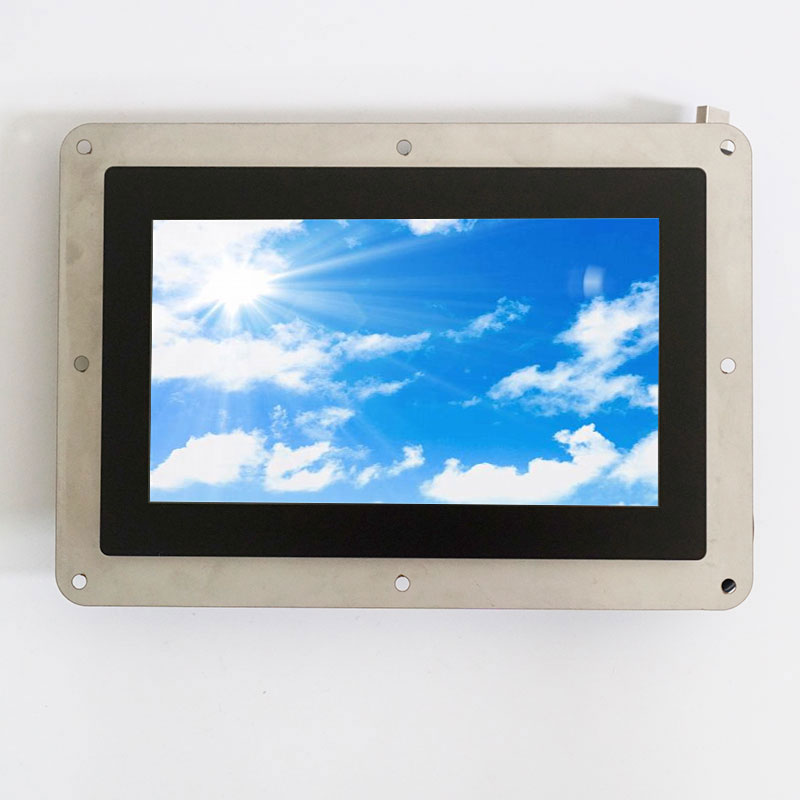 Anti reflection without case 7 inch open frame monitor