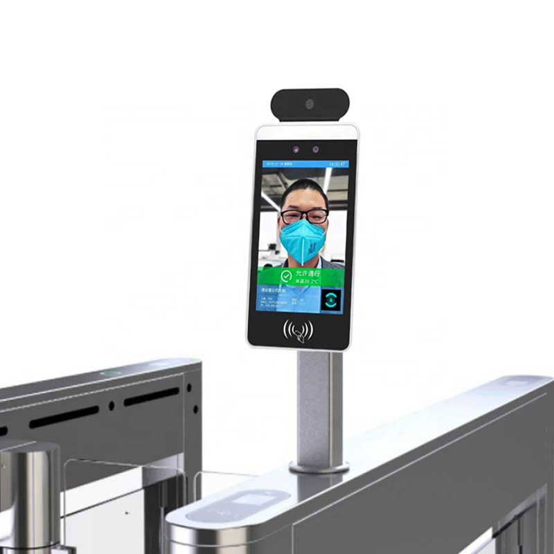 Face recognition Body Temperature Detection Kiosk