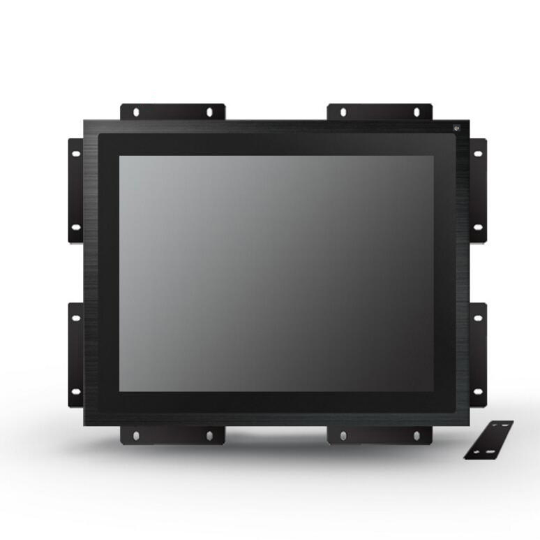 1000 nits outdoor kiosk touch monitor with fan cooling