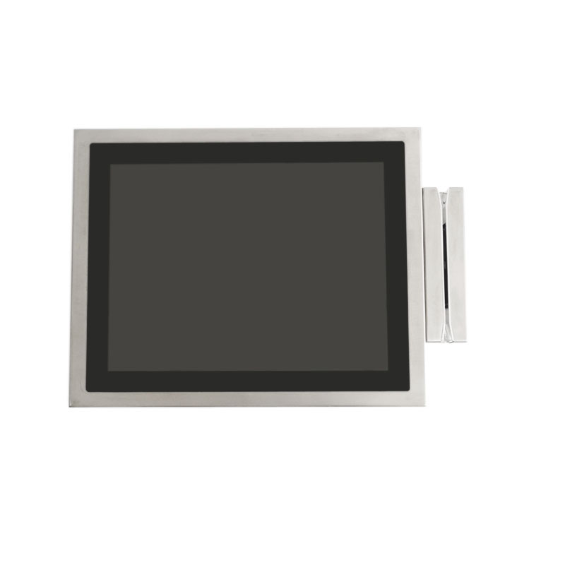 15 inch stainless steel all in one computer with IC card reader