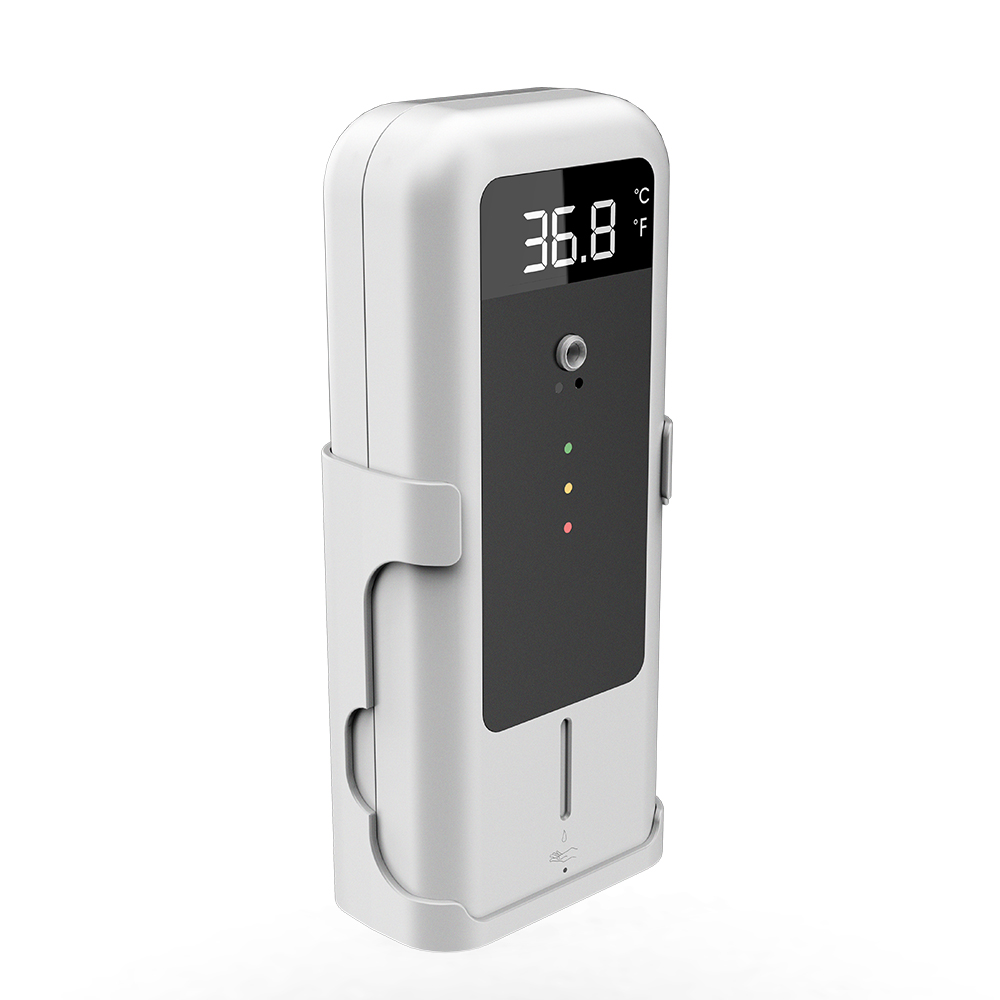 Automatic Sensor Temperature Measurement with hand sanitizer dispenser 300ml