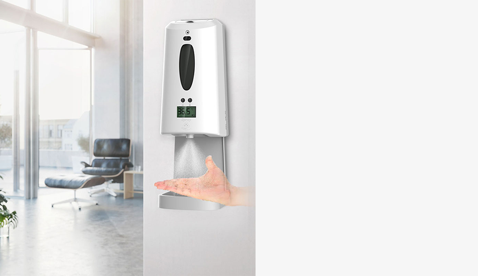 THERMAL SCANNER SOAP DISPENSER