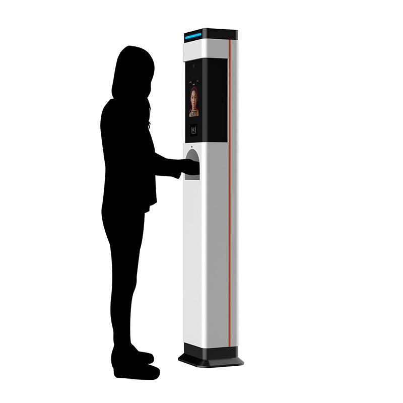 Face Recognition Temperature Measurement Kiosk