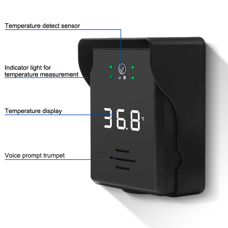 Supporting 11 languages temperature measuring device ST-400S
