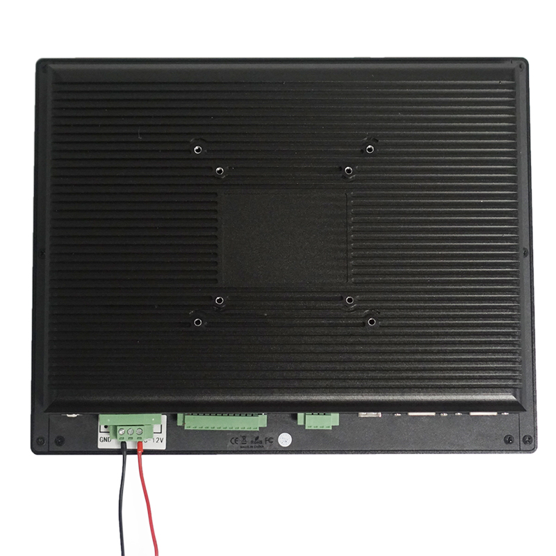 Shockproof GPIO CANBUS 12 Inch Vehicle Panel PC