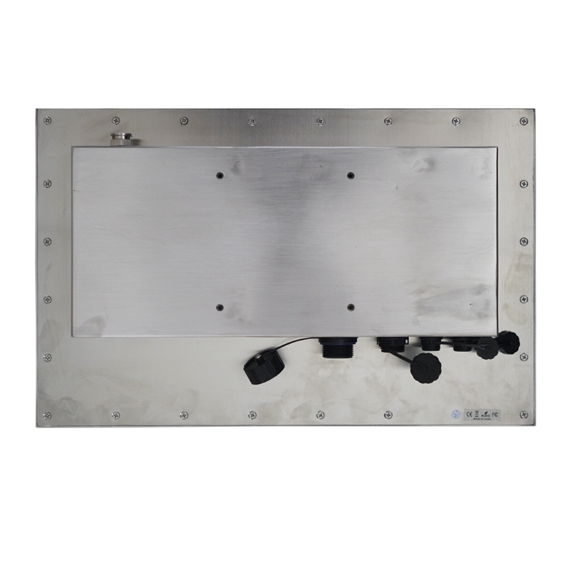 316 Stainless Steel Case IP67 1000 nits Industrial Monitor 15.6