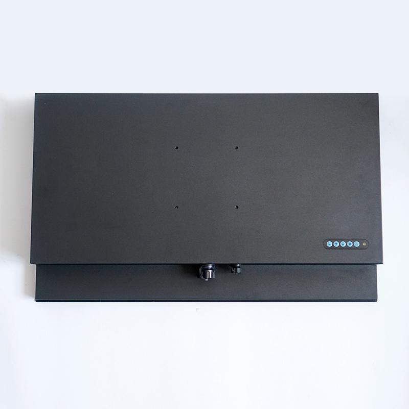 24 27 inch Optical Bonding LCD Screen IP67 Metal Monitor 1200 nits