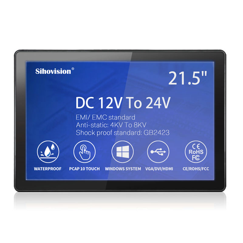 4KV To 8KV Anti-static Industrial Touch Monitor SL600M