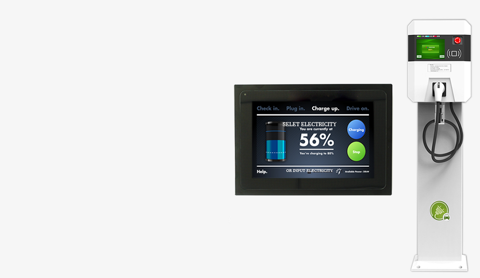 7 INCH TOUCH MONITOR FOR EV KIOSK