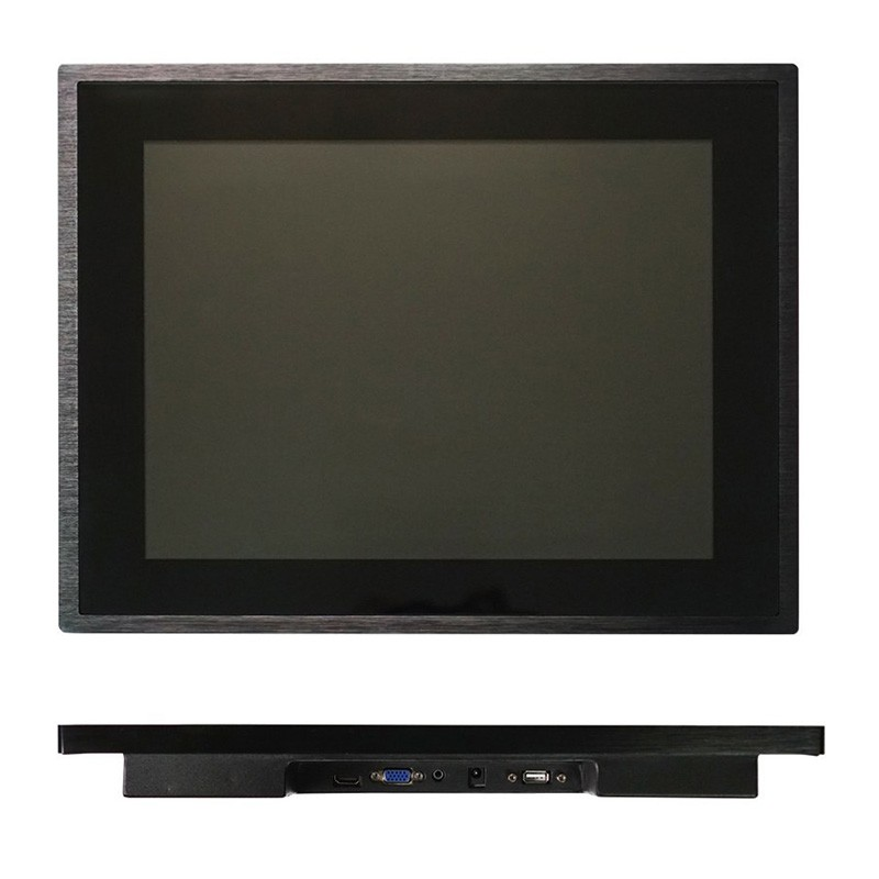 12 inch Touch Monitor With 6mm Tempered Glass