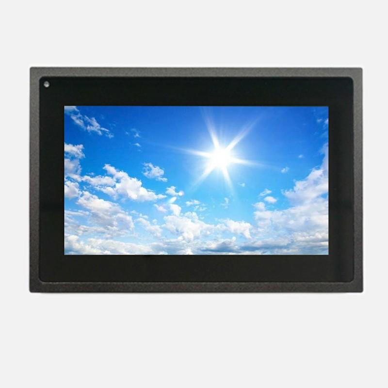 high brightness 7 inch touch monitor for EV kiosk
