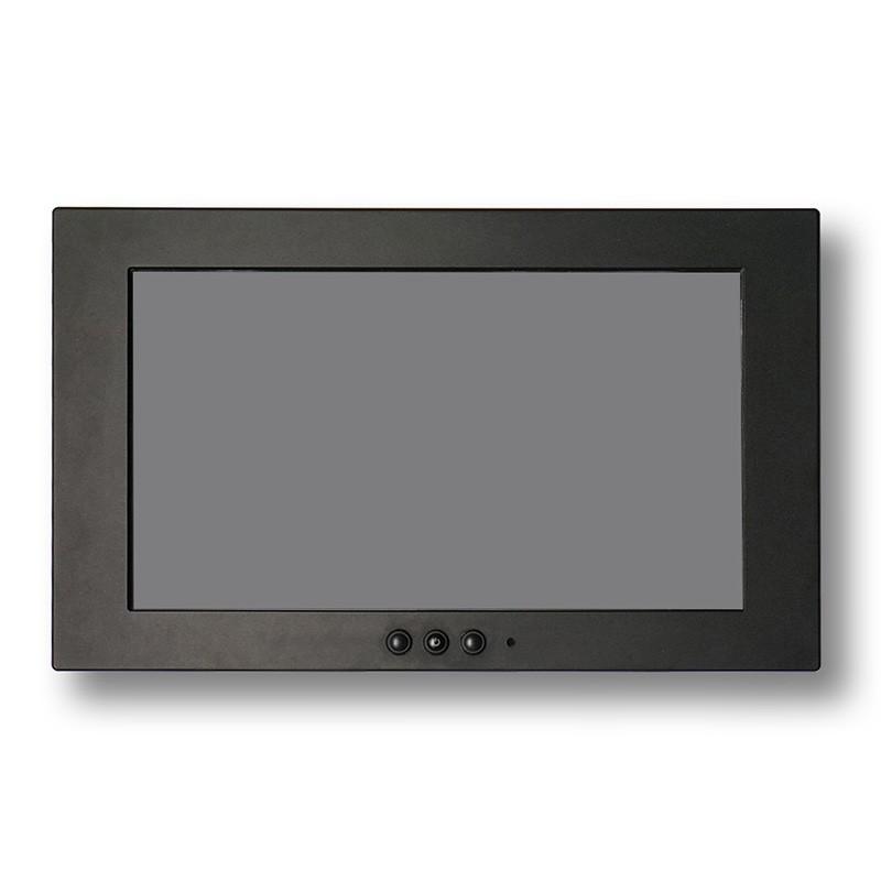 3 channel AV port IP67 cctv monitor DC 8~36V