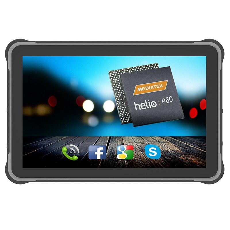 10500mAh IP65 MT6771 Rugged android tablet 4GB 64GB