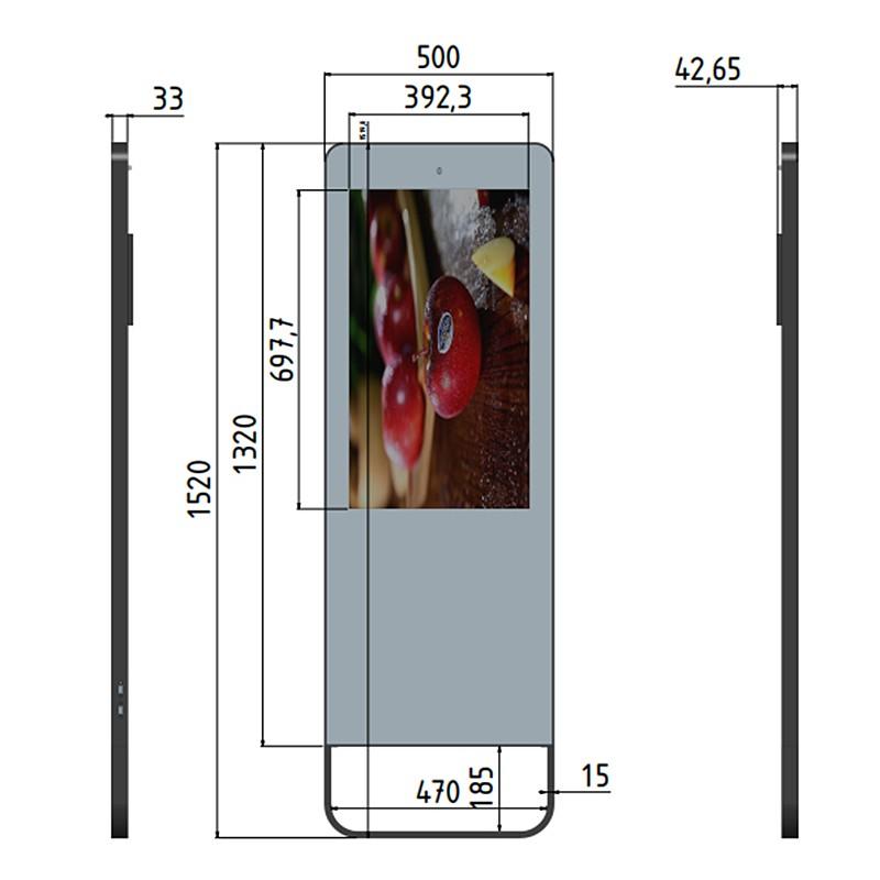 32 Inch Magic Mirror Smart Fitness Mirror