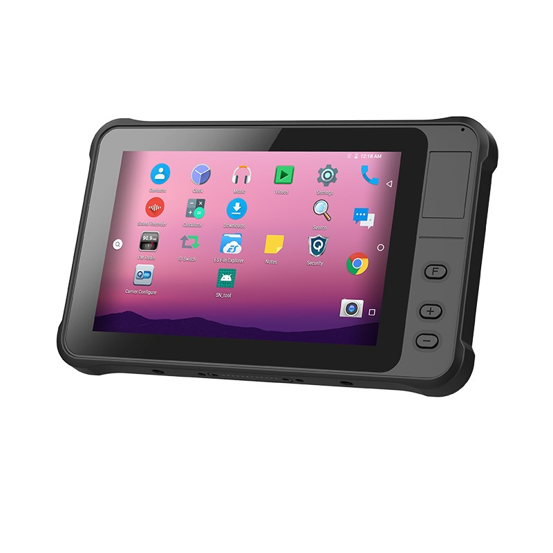 800*1280 IPS IP65 rugged 7 inch tablet android 1000cd/m2