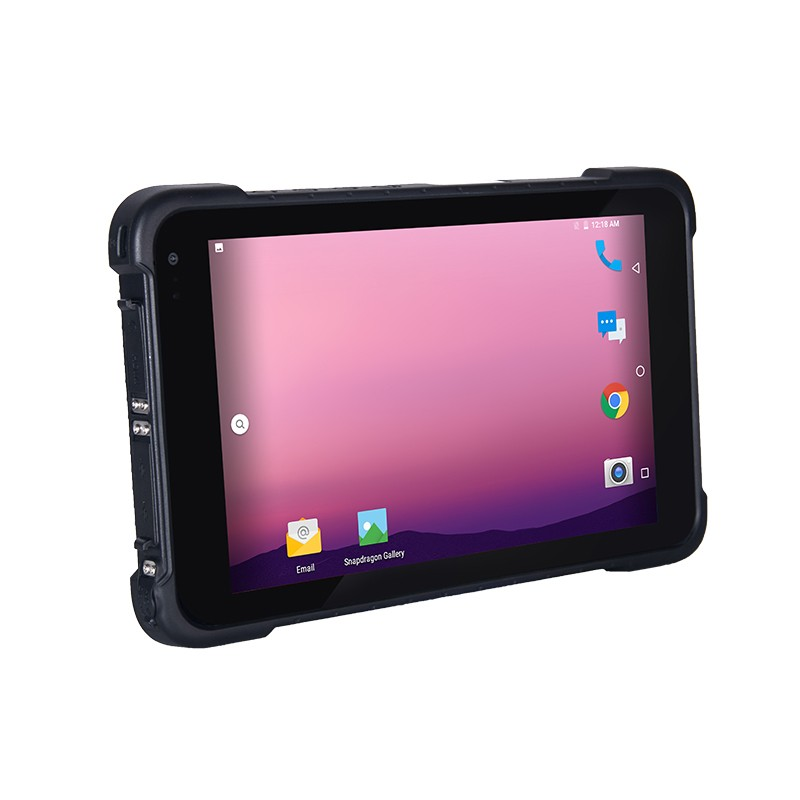 800nits IP65 Military 4G Ruggedized Android Tablet