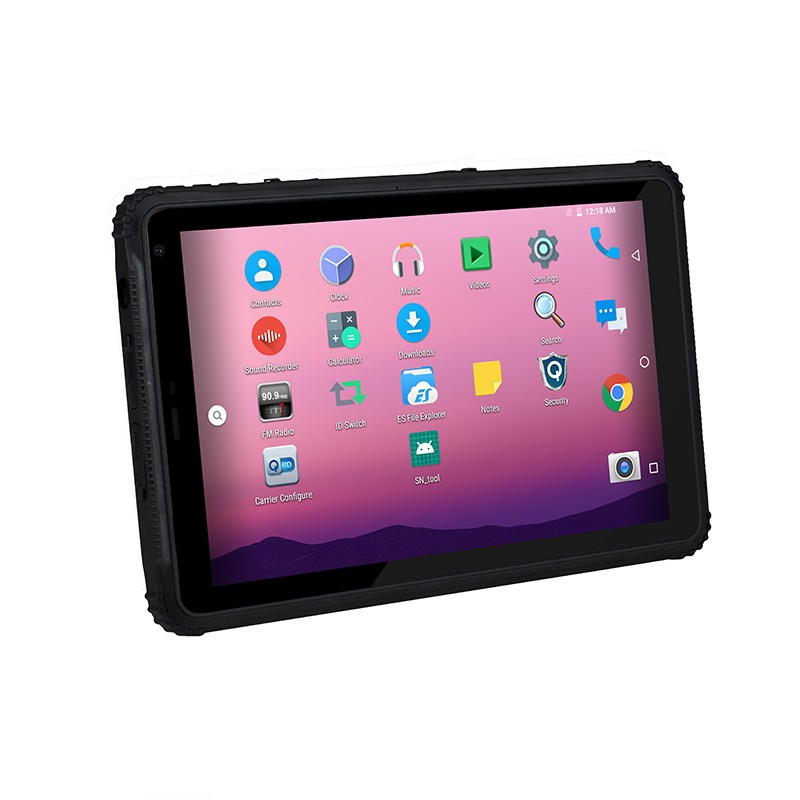 IP67 Shockproof 4G Rugged Android Tablet NFC