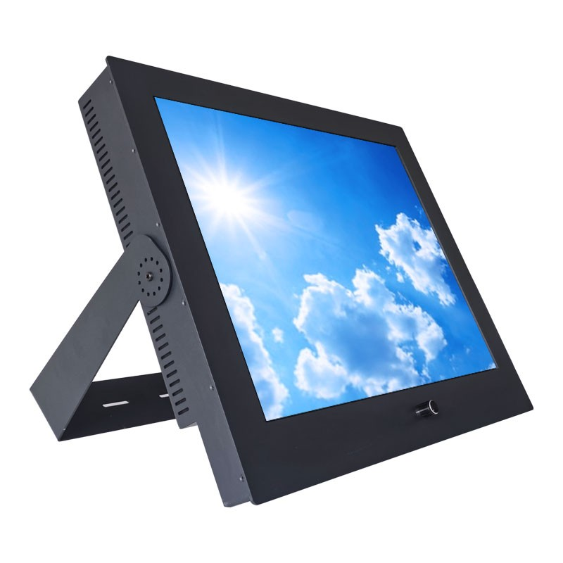 Sunlight Readable Industrial Monitor with Bracket